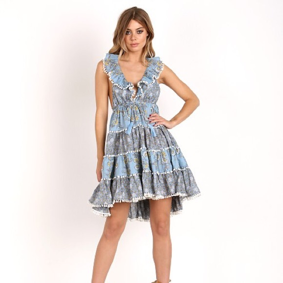 70888485ea0c Zimmermann Dresses | Caravan Tiered Sundress Size 1 | Poshmark